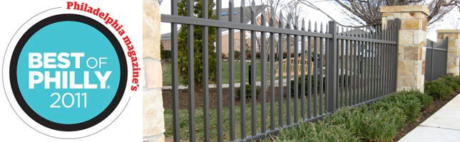 Philadelphia Magazine Best of Philly - Fence Installers
