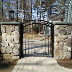 vinyl fence with metal gate. Gates, Gate Hardware And Arbors Gates \u0026 · Vinyl Fence With Metal