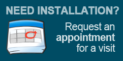 request an appointment for installation