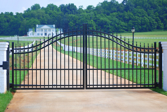 Entrance Gates - Custom Styles, Heights & Widths