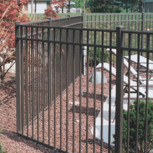 Fence City 54 Quot Ultra Aluminum Fence Uaf 200 Quot Assembled