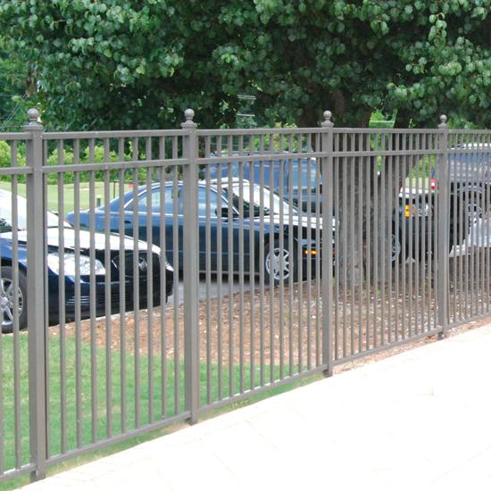 Fence city quot ultra aluminum panels uaf