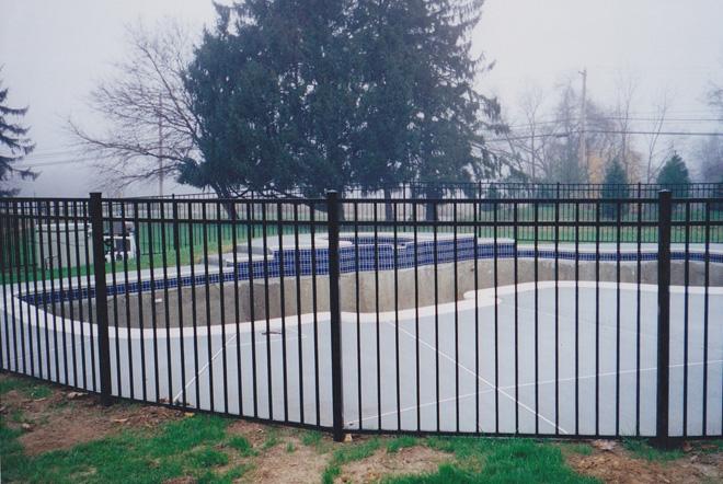 Fence city quot aluminum panels by ultra uaf