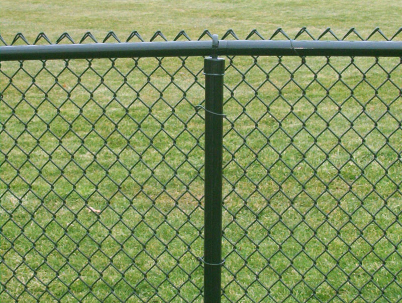 Vinyl Coated Wire Mesh  Fence - Fencing Materials Distributor