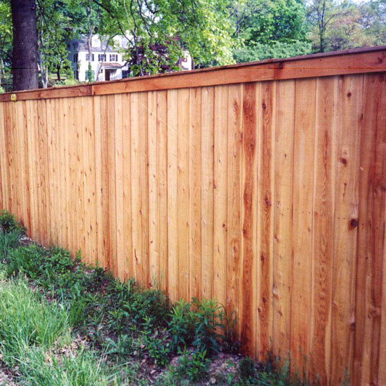 Fence City 72 Quot High Solid With Cap Amp Face Fence Red