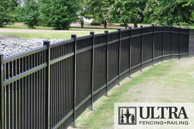 Fence City 72 Quot Ultra Aluminum Fence Uaf 200 Quot Assembled Quot