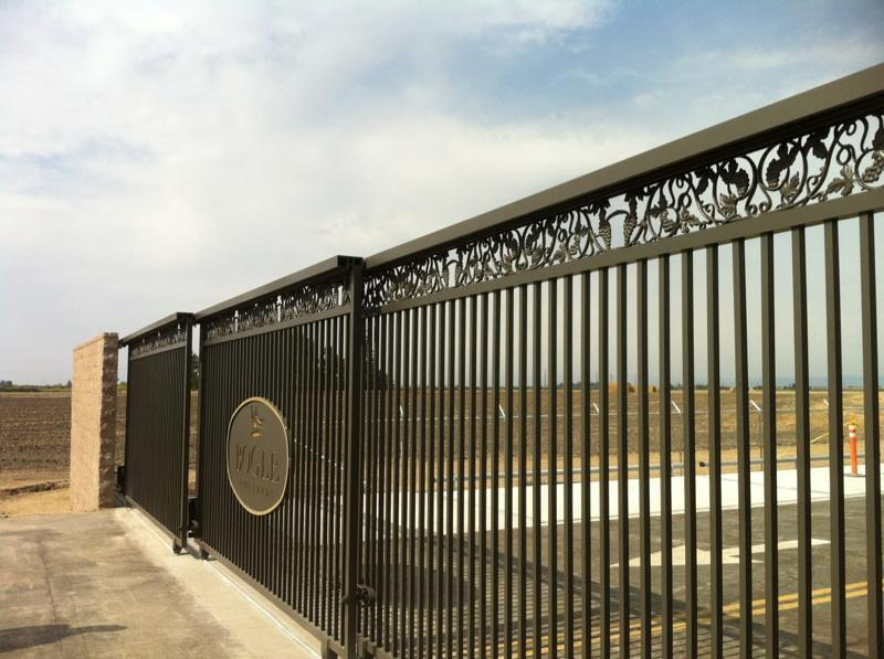 Fence City Entrance Gate