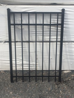 4 ft tall 3 rail Aluminum Gate