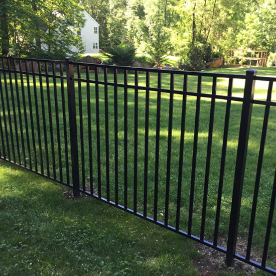 "Residential UAF-200 in Height  36"" to 72""  Ultra Aluminum Fence"