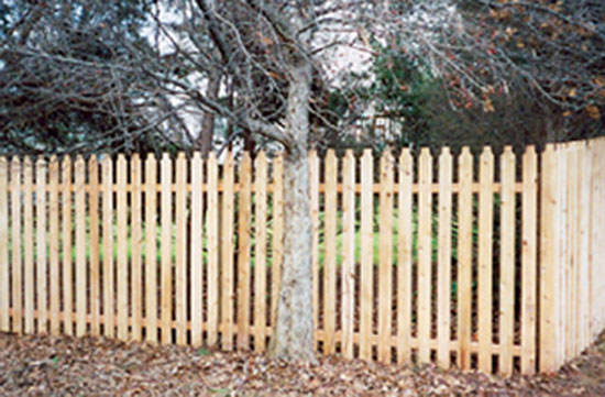 Fence City 60 Quot 2 Inch Spaced Picket Spruce