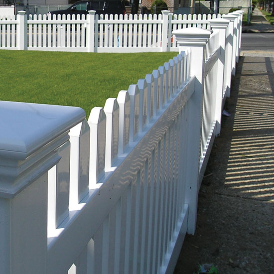 vinyl and pvc fence brochure