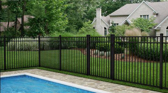 Fence City 54 Quot Ultra Aluminum Fence Uaf 200 Quot Assembled