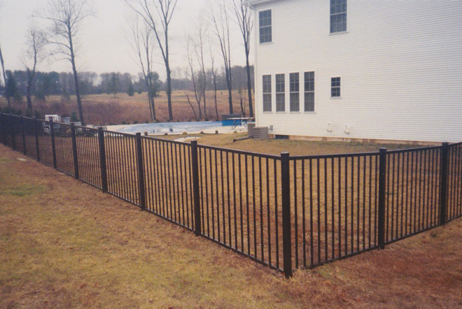 Fence City 48 Quot Ultra Aluminum Fence 2 Rail Quot Ready To
