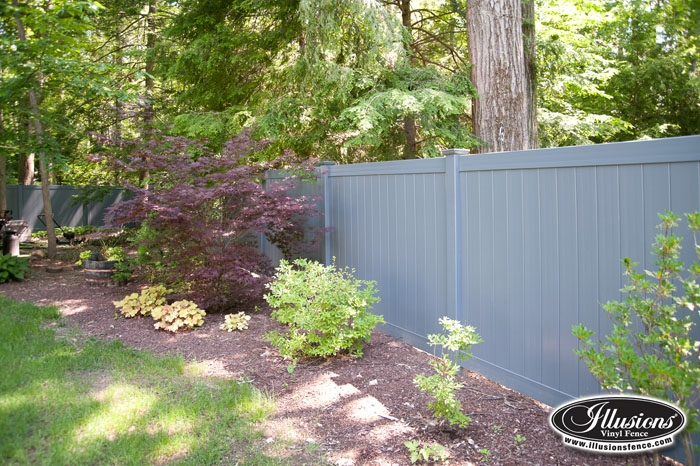 Fence city ft illusions vinyl privacy quot beige or grey