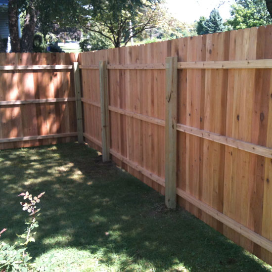 Fence City 72 Quot Dog Eared Solid Board Red Cedar