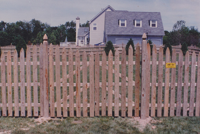 Fence City 60 Quot 1 Inch Spaced Picket Pressure Treated